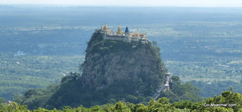 Mount popa and popa taungkalat monastery go myanmar popa taungkalat monastery thecheapjerseys Choice Image