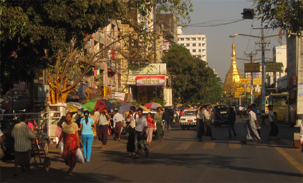 yangon rangoon  rmation go myanmar
