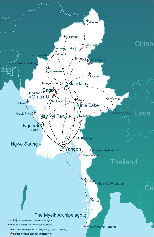 Bagan Map
