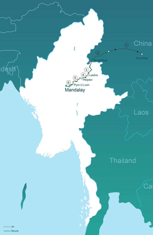 The burma road china to mandalay go myanmar the burma road china to mandalay gumiabroncs Choice Image