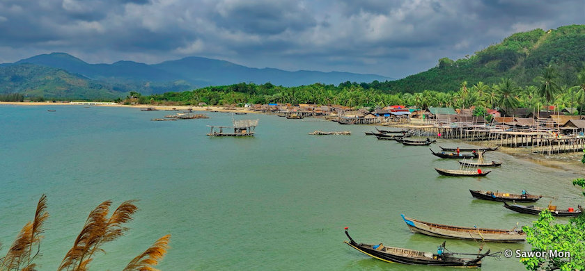 Ka Byar Wa fishing village