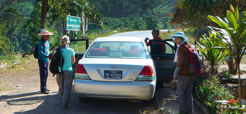 Hire car in Shan State