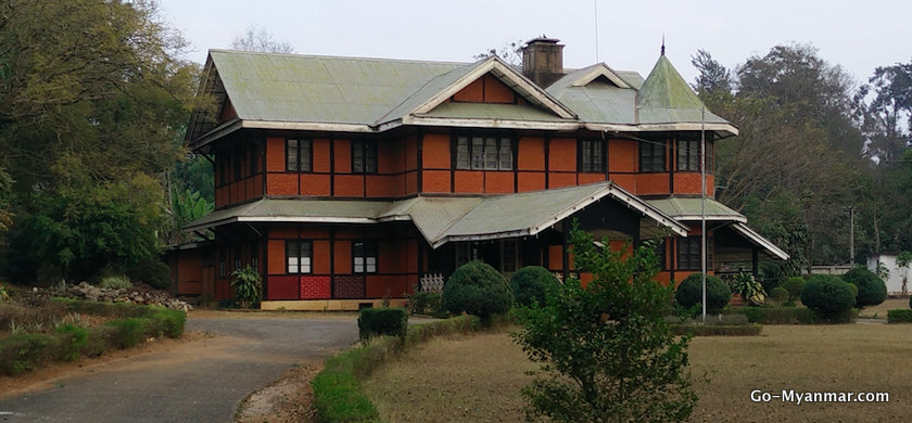 Colonial-era mansion in Pyin Oo Lwin