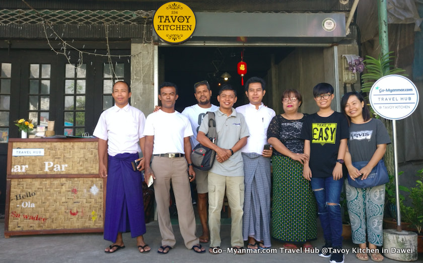 Go-Myanmar.com Travel Hub @Tavoy Kitchen in Dawei